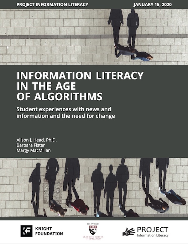 Algorithm Study (January 15, 2020) – Project Information Literacy